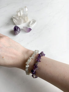 Clear Quartz Gemstone Bracelet Beauty Stone Co