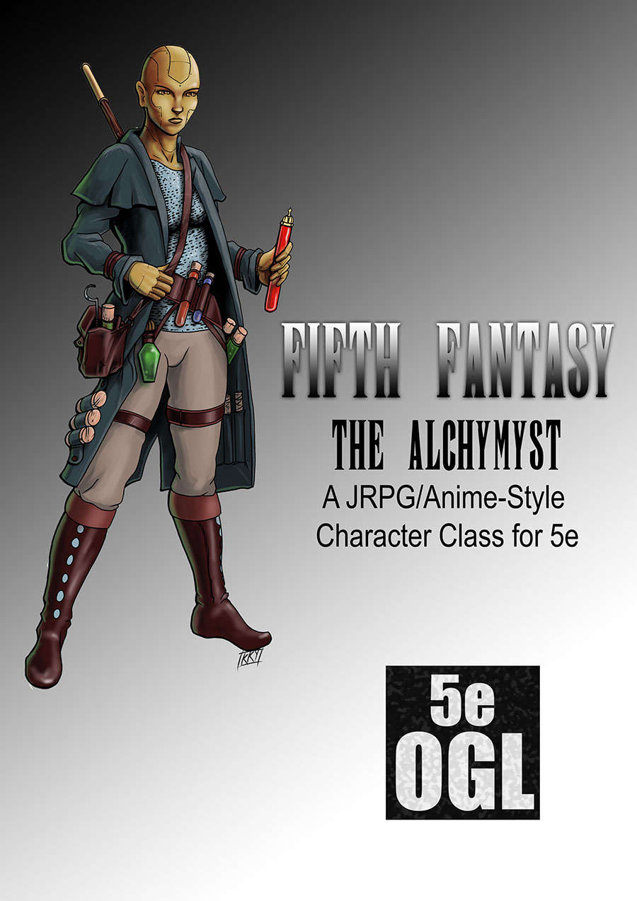Fifth Fantasy - The Alchymyst