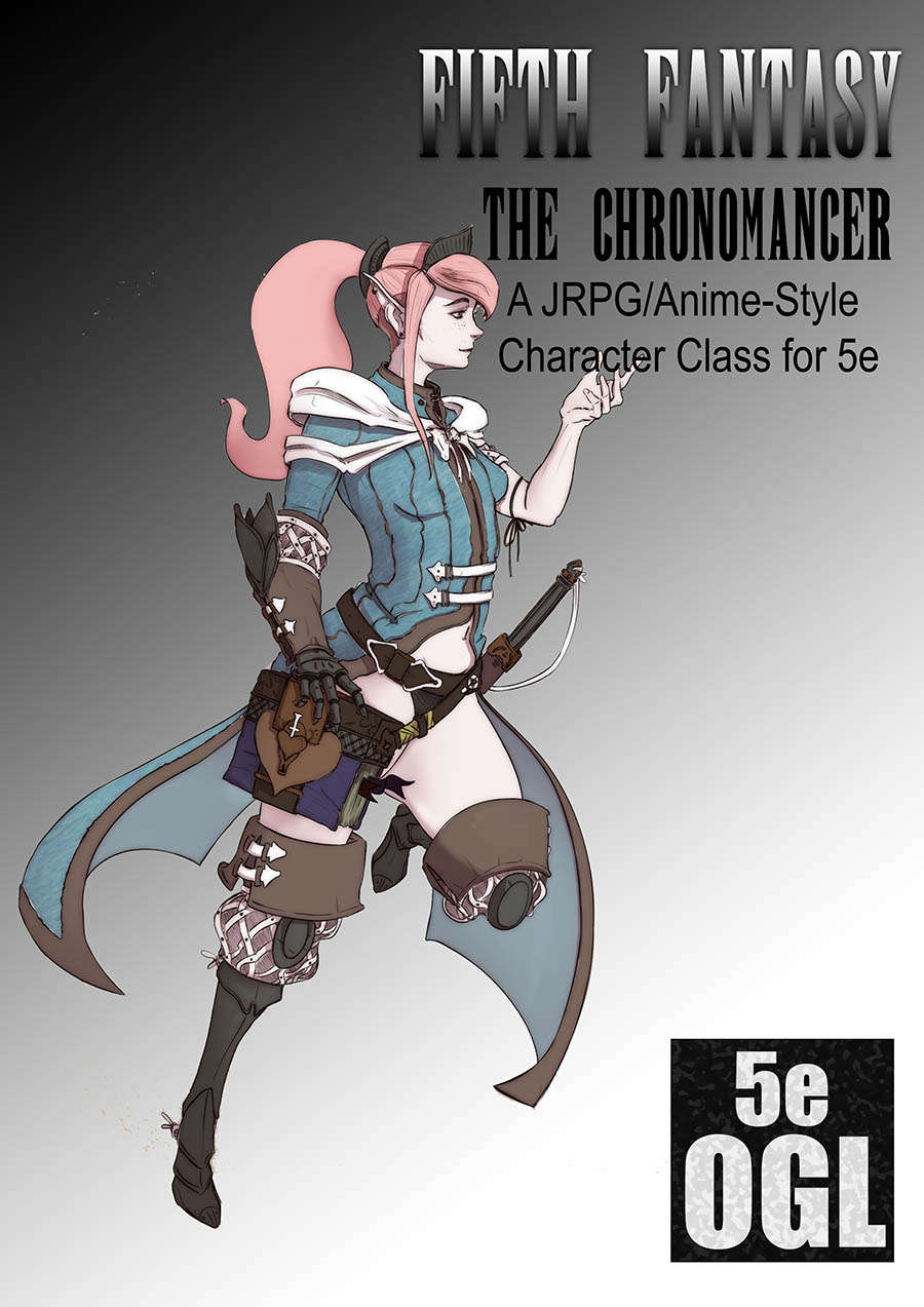 Fifth Fantasy - The Chronomancer