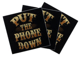 Put the Phone Down Bumper Sticker (3 Pack)