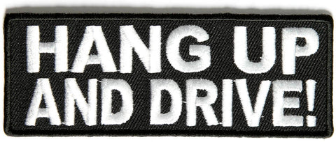 Hang Up and Drive Patch