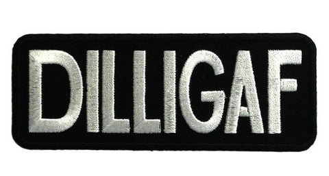 DILLIGAF Embroidered Iron on Patch