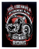 Yes I Do Have A Retirement Plan Stickers (3-PACK)