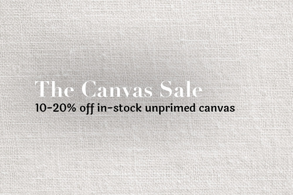 THE CANVAS SALE