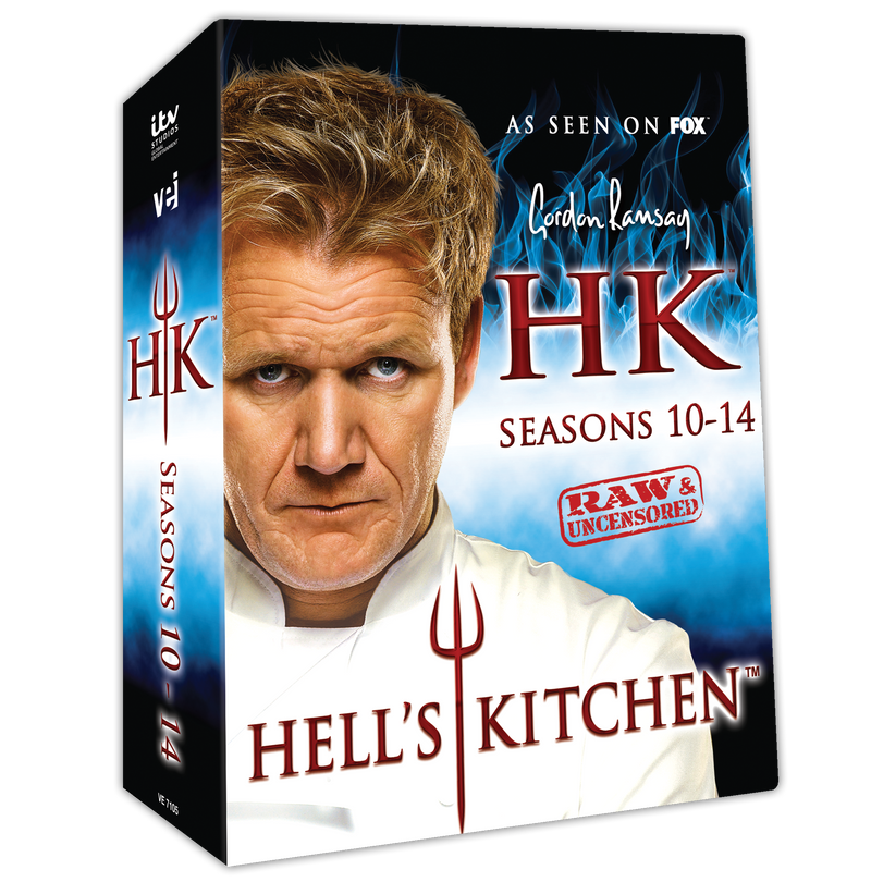 Peachy Hells Kitchen Dvds Visual Entertainment Inc Beutiful Home Inspiration Semekurdistantinfo