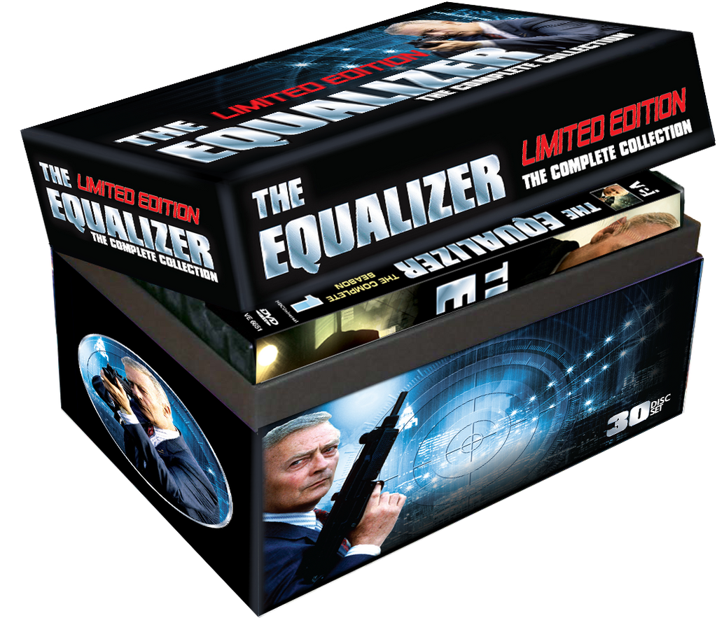 The Equalizer Complete Collection Limited Edition Gift Box #6650