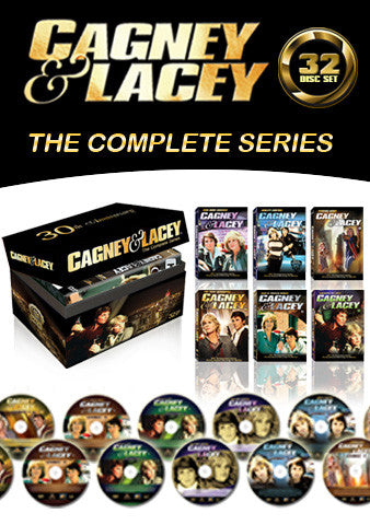 Cagney & Lacey The Complete Series 32 Disc Set