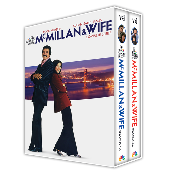 McMillan & Wife: The Complete Collection #5554