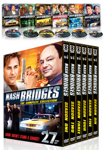 Nash Bridges - The Complete Collection