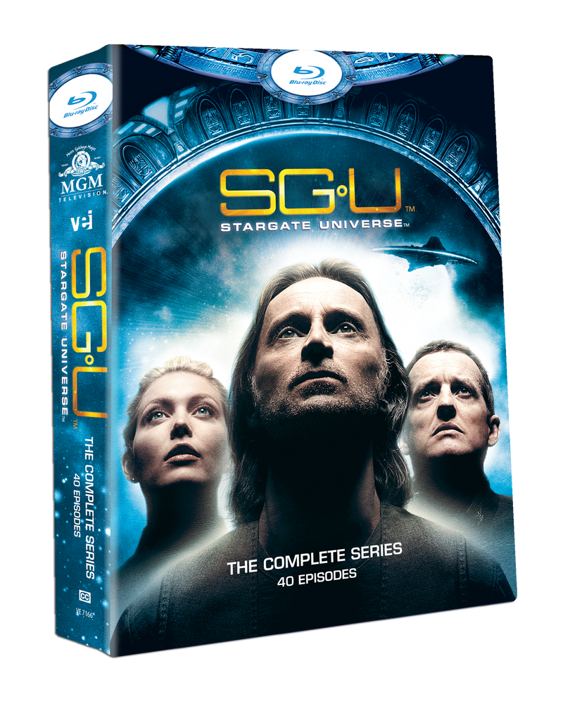 Stargate Universe - The Complete Collection - 40 episodes [Blu Ray] #7166