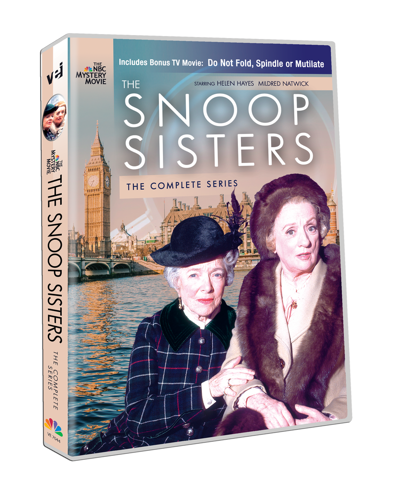 The Snoop Sisters: The Complete Series. Includes Bonus TV Movie:  Do Not Fold, Spindle or Mutilate  #7044