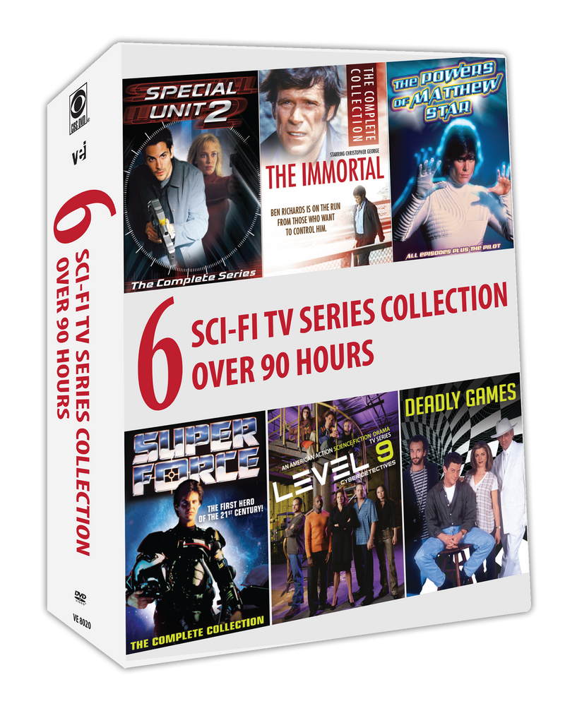 6 Sci-Fi TV Series Collection - Over 90 hours #8020