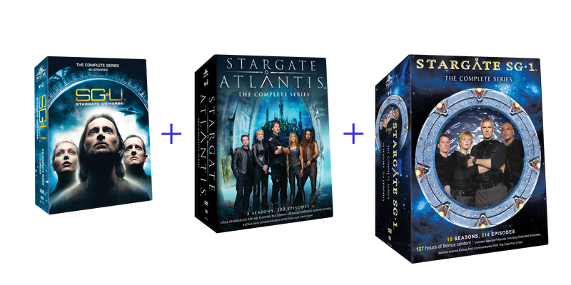 STARGATE THE SERIES COLLECTION VE 7177