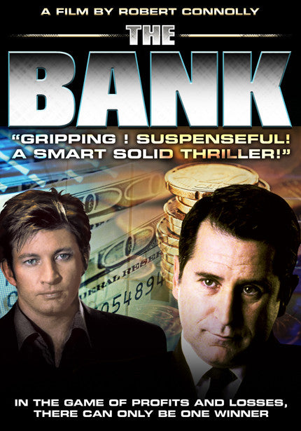 The Bank - Gripping & suspenseful! A smart solid thriller!