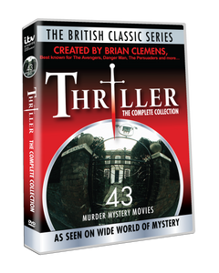 Thriller: The Complete Collection by Brian Clemens - 43 star-studded, spine-tingling movies! #7027