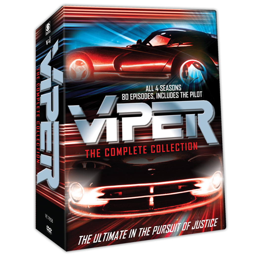 Viper - The Complete Collection  #7058 - all 4 seasons, 80 episodes, includes The Pilot