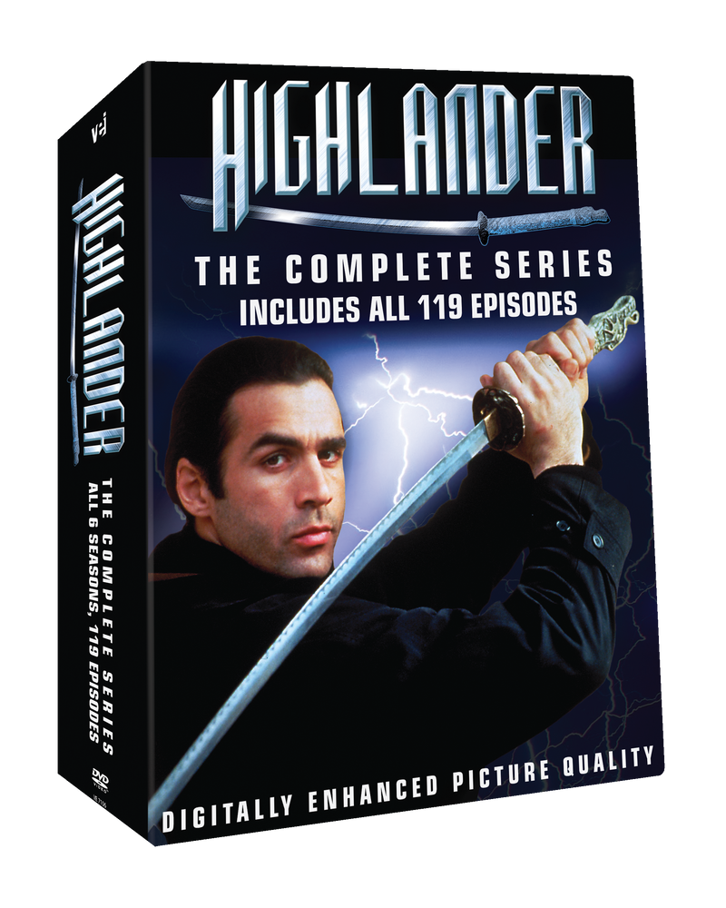 Highlander - Digitally Enhanced Picture Quality-  The Complete Collection #7160