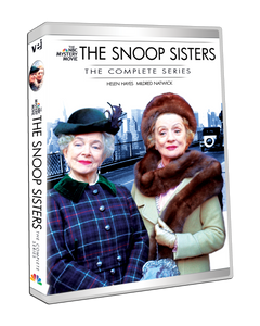 The Snoop Sisters: The Complete Series include original TV movie pilot  #5537