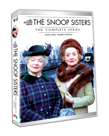 The Snoop Sisters: The Complete Series include original TV movie pilot