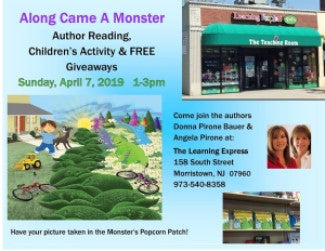 Join Us April 7, 2019, 1-3pm At Learning Express Toys of Morristown, NJ