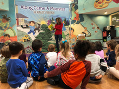 Angela Pirone reads at Kinder Care of Whippany NJ KinderCare