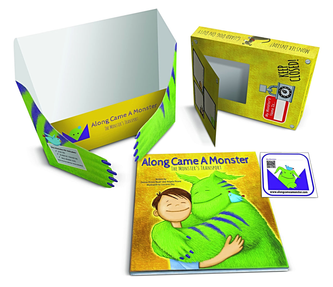 monster story book kit