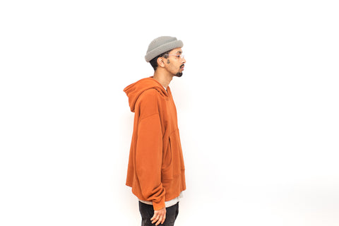 Hooded Pullover - Sienna
