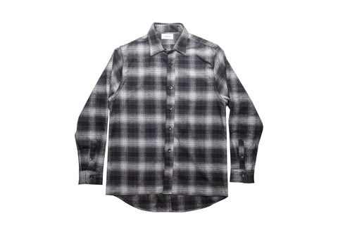 Aberdeen Flannel - Black/Grey