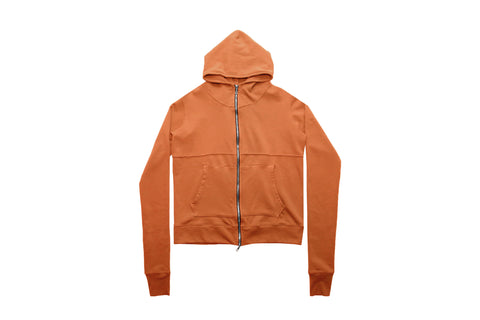 French Terry Full Zip - Sienna