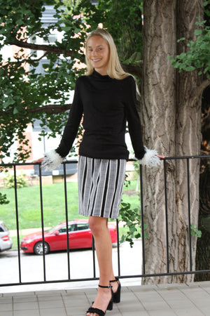 Power Stripe Skirt!