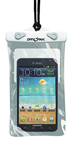 Dry Pak Cell Phone Case 5x8 White/Grey