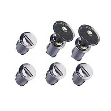 Lock Cylinders, 6-pack, #596