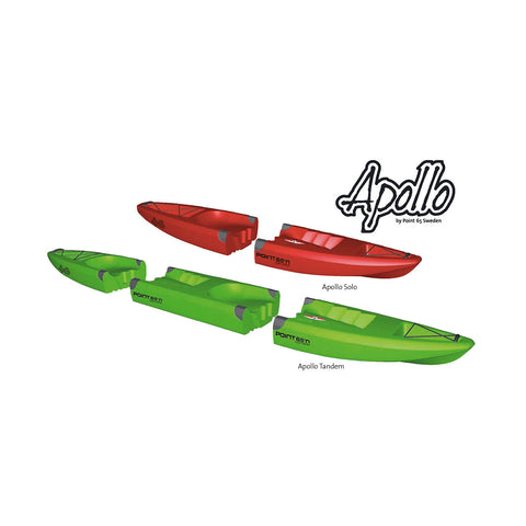 Apollo Mid Piece Red