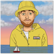 "Load image into Gallery viewer, Mac Miller 20""x20"" Canvas Print"
