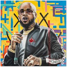 "Load image into Gallery viewer, Tory Lanez 30""x30"" Canvas Print"