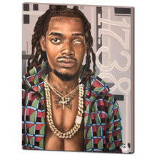 "Load image into Gallery viewer, Fetty Wap 30""x40"" Canvas Print"