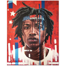 "Load image into Gallery viewer, Joey Bada$$ 24""x30"" Canvas Print"