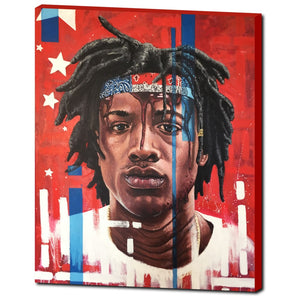 "Joey Bada$$ 24""x30"" Canvas Print"