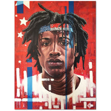 "Load image into Gallery viewer, Joey Bada$$ 18""x24"" Canvas Print"
