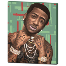 "Load image into Gallery viewer, Gucci Mane 24""x30 Canvas Print"