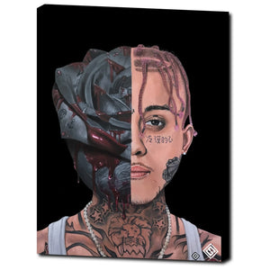 "Lil Skies 18""x24"" Canvas Print"