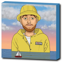 "Load image into Gallery viewer, Mac Miller 12""x12"" Canvas Print"