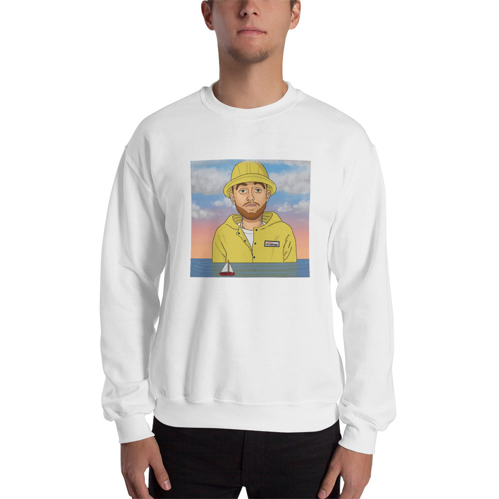 Larry Fisherman Picture Sweatshirt