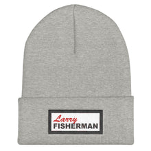 Load image into Gallery viewer, Larry Fisherman Patch Beanie