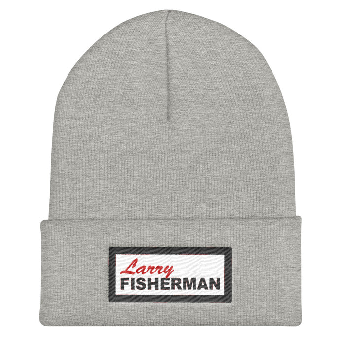 Larry Fisherman Patch Beanie