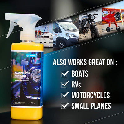 car exterior cleaning kit