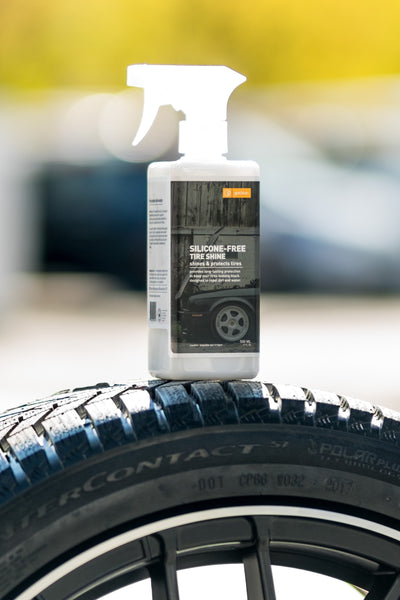 tire shine spray kit