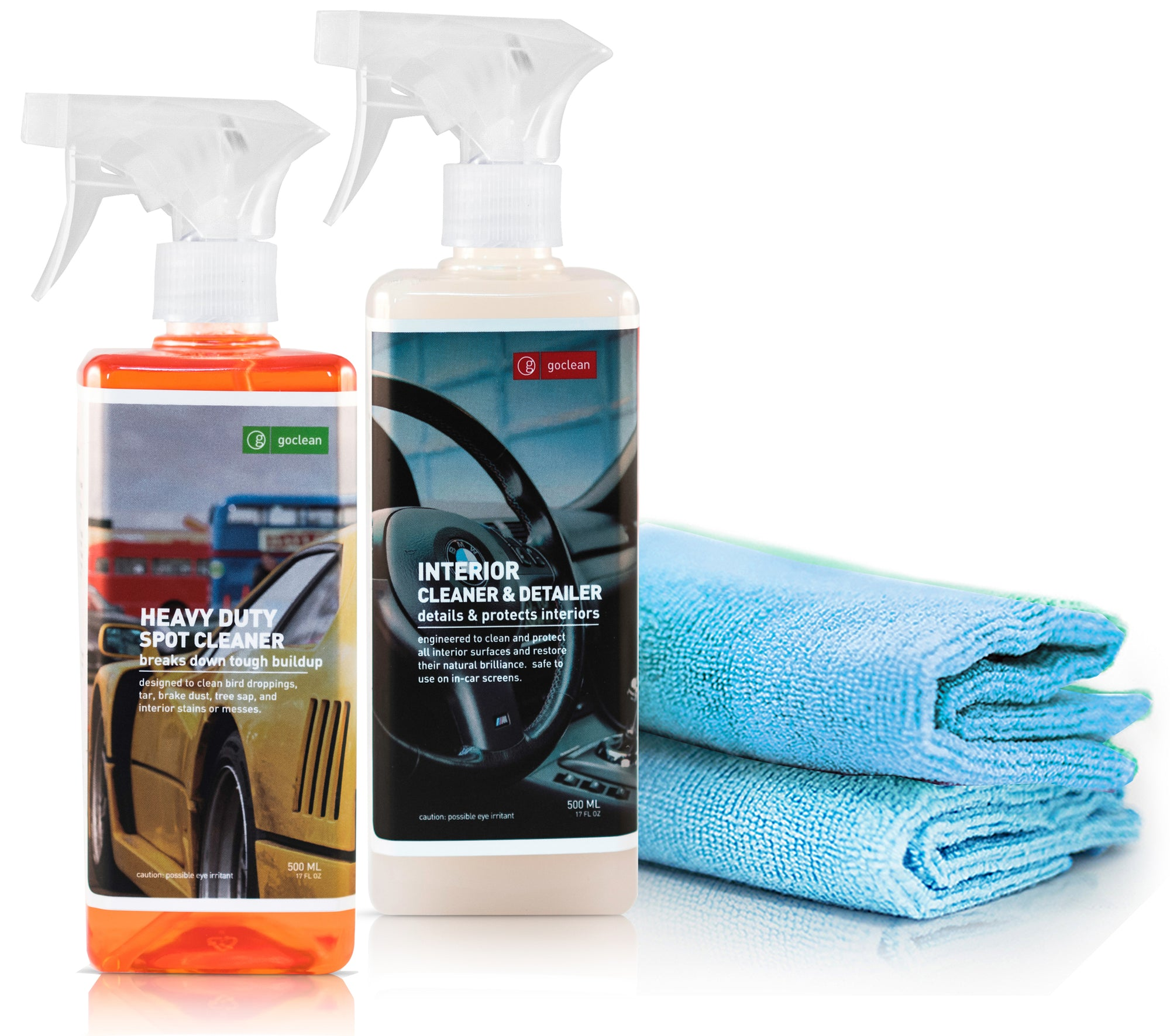INTERIOR DISINFECTING & CLEANING BUNDLE (GERM KILLER)