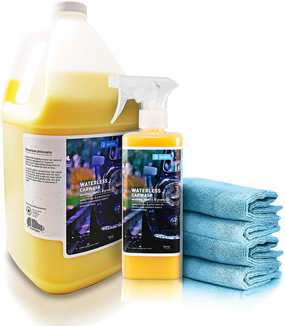 waterless car wash kit