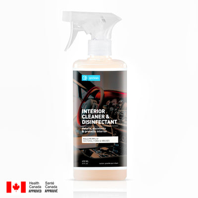 CAR INTERIOR DETAILER AND DISINFECTANT – ALL IN ONE